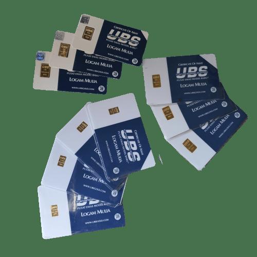 Emas batangan UBS
