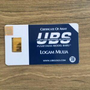 logam mulia emas UBS 1 min