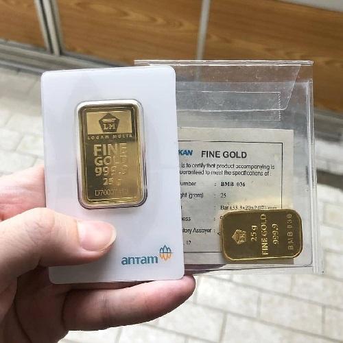 harga emas antam di jogja hari ini