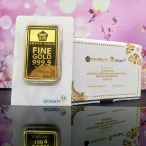 Amankah membeli emas Antam secara online
