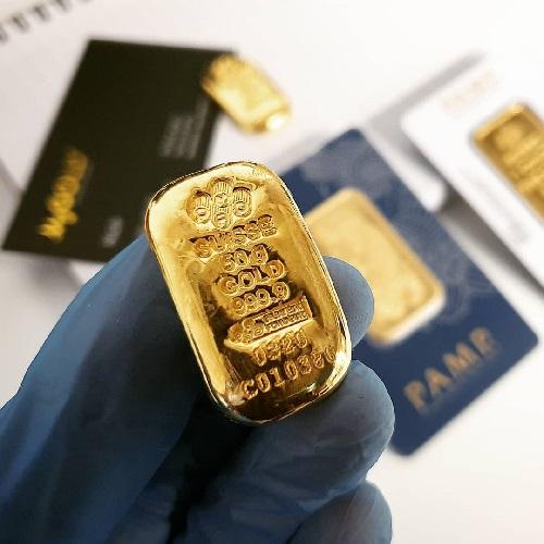 mengenal emas Pamp Suisse