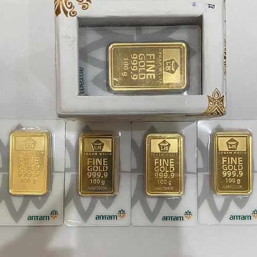 cara menjual emas batangan di butik antam