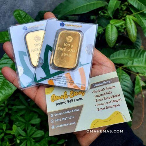 Jual Beli Emas Antam di Yogyakarta
